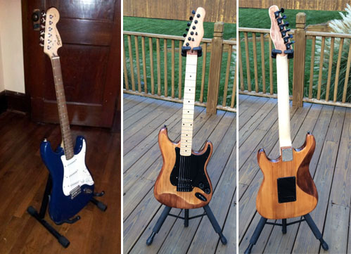 strat project before and after